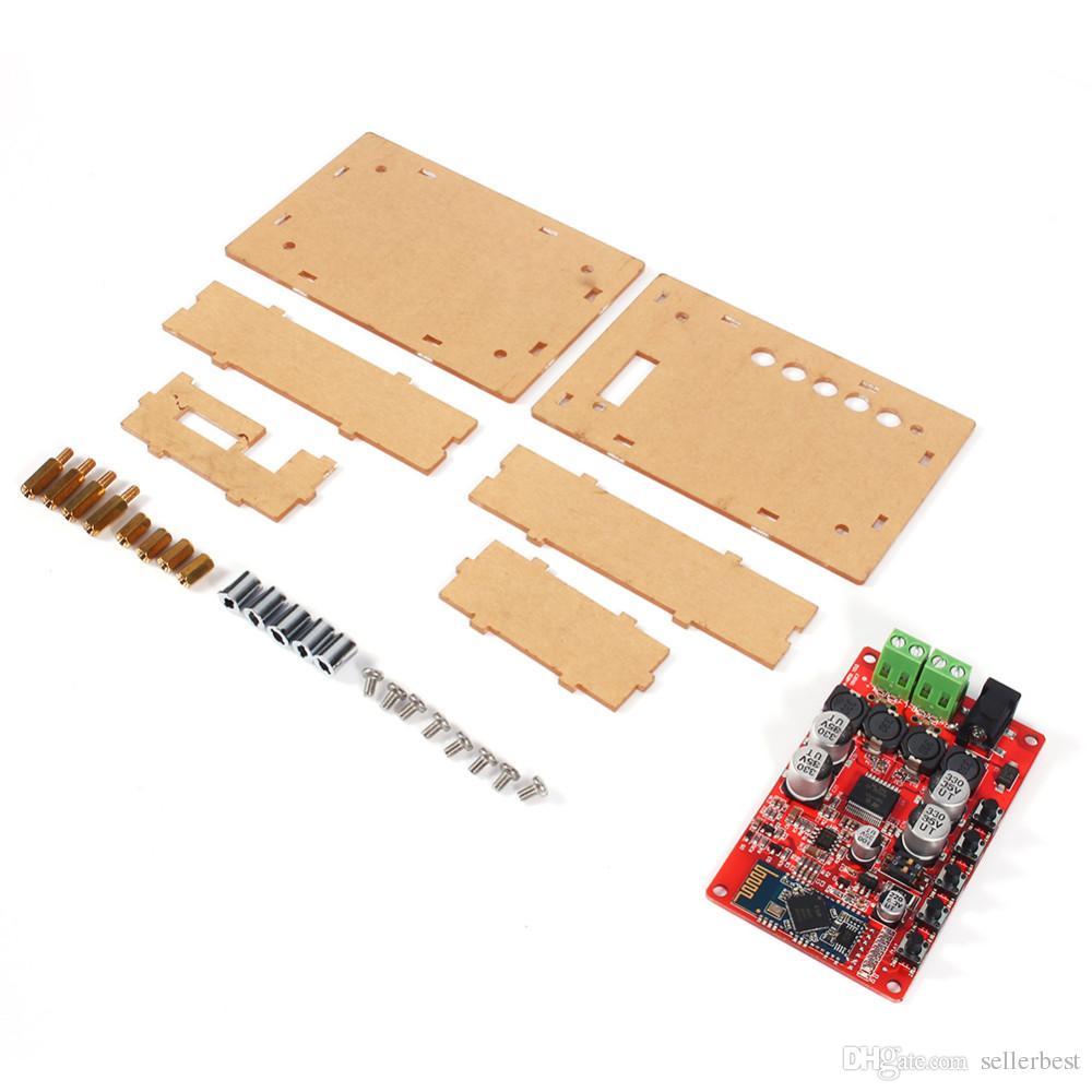 TDA7492P Receptor de Áudio Sem Fio Bluetooth V4.0 Placa Amplificador Digital com Shell AMP Board Frete Grátis
