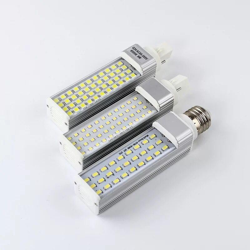 13w Prise Led Smd 5w E27 Ampoule Horizontale Ac85 G24 Livraison 7w 9w 10w 180 Gratuite 265v Degrés 11w 12w G23 Lumière w8POknX0