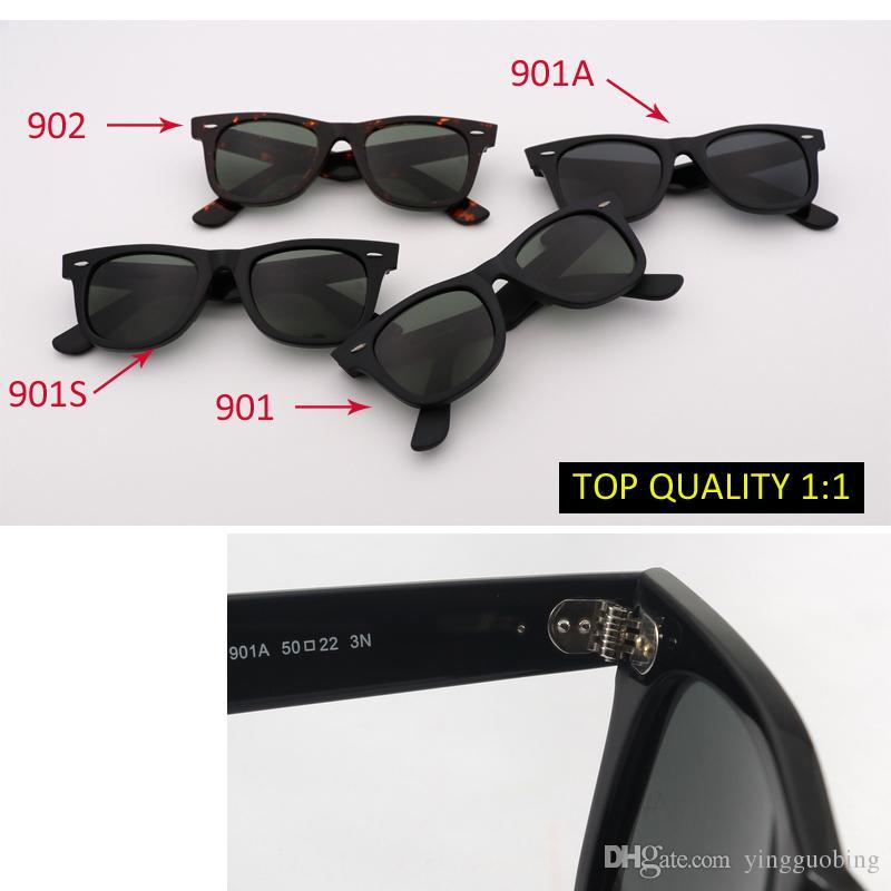 f24cbefe44d6 2018 New Top Quality Brand Designer Sloped Sunglasses Men Retro ...