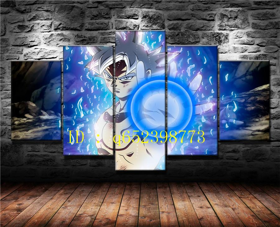Compre ultra instinto goku dragon ball super 5 piezas - Pintura instinto ...