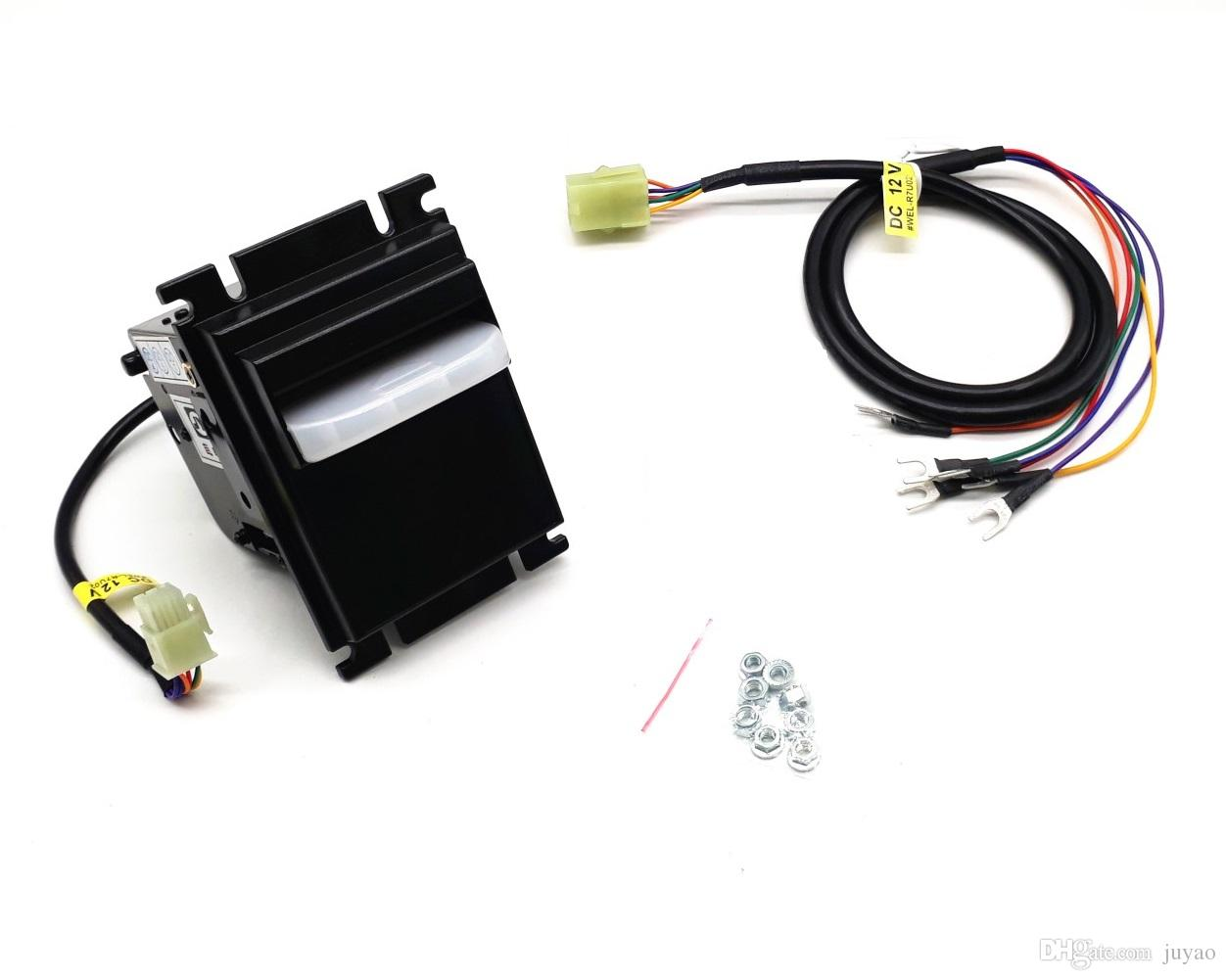 Multi Banknotes Bill Acceptor with Pulse RS232 Signal for USD, VND, PHP,  MYR and MXN for Timer Box, Game Machine, Coin Changer