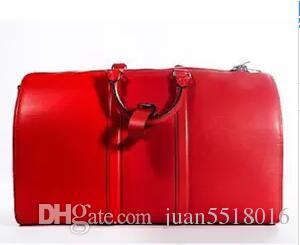 2dfebfc22c Top Quality Genuine Leather New Fashion Men Travel Bag Women Duffle ...