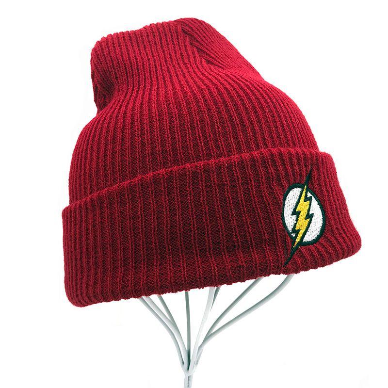 Men Hat Red Beanie For Teenager Men Women Winter Hat Flash Cap Hat Warm  Hero Hip Hop Caps For Men Women Teenagers Beanie Hats For Women Beanies For  Women ... 63b64c67371