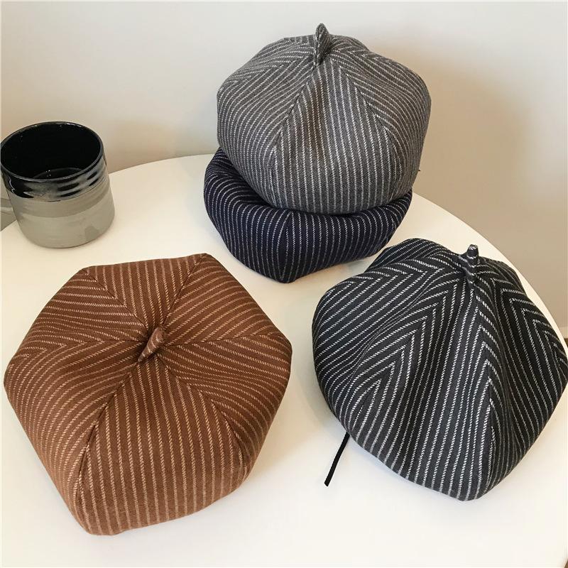 64e76ec121b Women s Octagonal Hat Autumn Winter Fashion Painter Cap Newsboy Cap ...