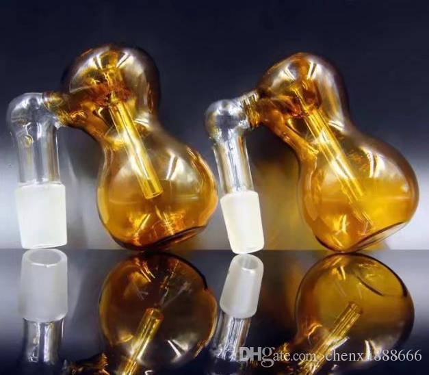 Venda por atacado - 14,5 mm feitiço cor água cachimbo de fumar acessórios acessórios, cor de entrega aleatória, acessórios de vidro por atacado de vidro, vidro