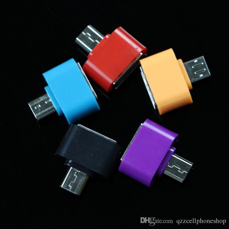Convertitore Micro USB A USB OTG Adapter 2.0 Android Adattatore Samsung Galaxy S3 S4 S5 Tablet PC USB Otg