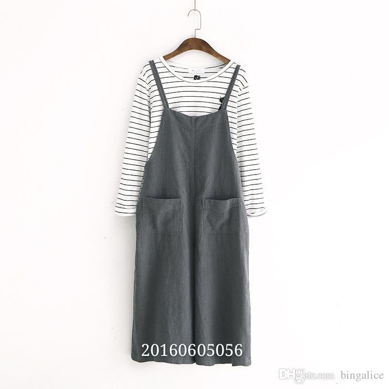 92fa571a0 estilo, color puro, ocio, correa, pantalones, primavera, verano, vestido  nuevo, ropa de mujer, falda de algodón y lino.