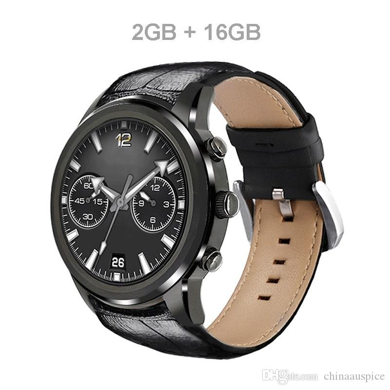 New X5 Air Android Mobile Phone Smart Watches 2G+16G MTK6580 Quad-core with SIM Card GPS Wifi Bluetooth Heart Rate Monitor Pedometer