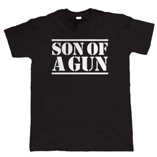 Gun Son Of A Funny T Shirt Father And Gift For Dad Him Baby Birthday 10 Shirts Cool Designs From Bikeshirts 1117