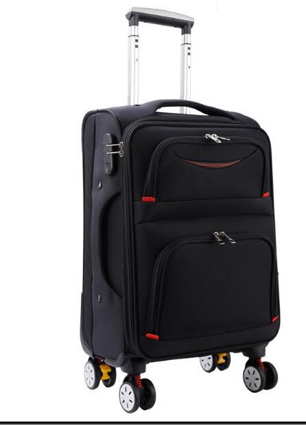 a7a6062195c Travel Rolling Luggage Bag On Wheel Business Travel Luggage Suitcase Oxford  Spinner Suitcase Wheeled Trolley Bags For Men Elmo Suitcase Toddler  Suitcases ...