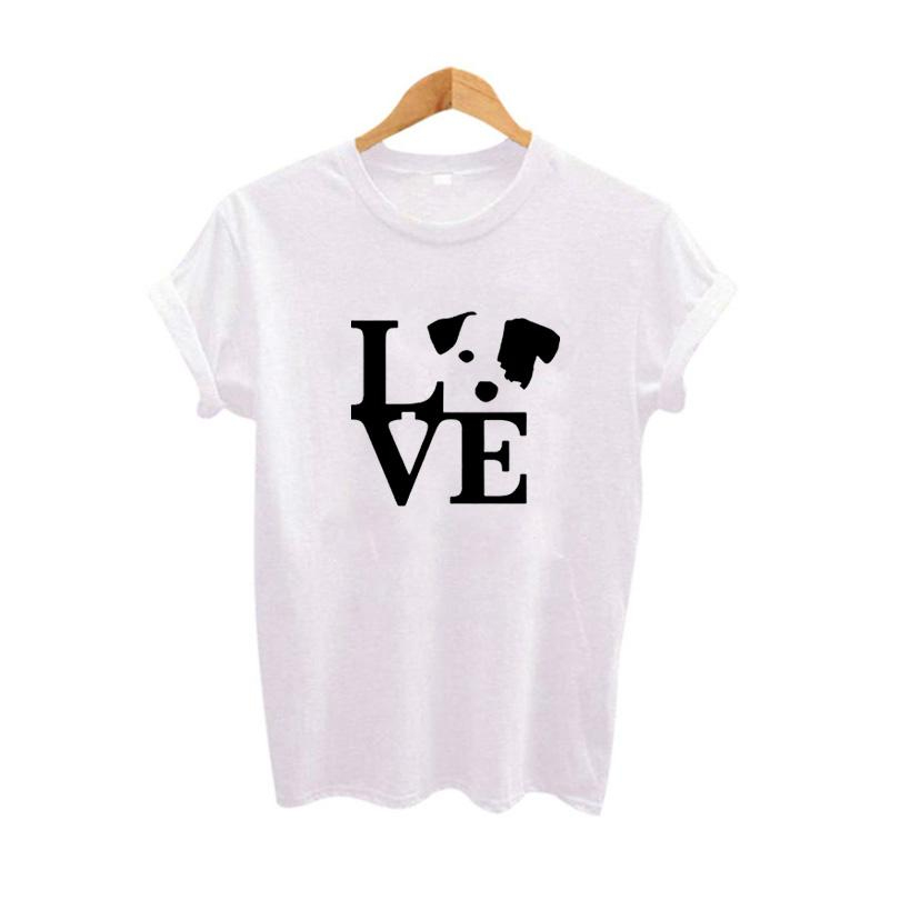 0f8fd4db4 Women's Tee Youth Girl's T Shirt Cute Lover Dog Graphic Tee Shirt Funny  Printed Tshirt Women's Cotton T Shirt Size S - Xxl