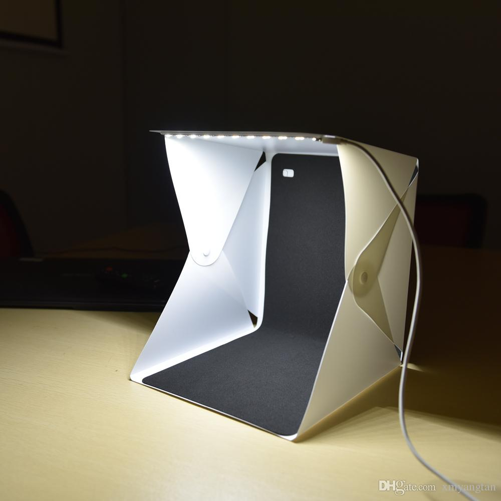 Portable Folding Lightbox Photography Studio Softbox LED Light Soft Box for DSLR Camera Photo Background Dropshipping