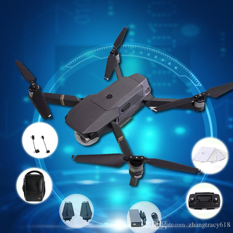 2018 New Promotion Newest Original Dji Mavic Pro Drone Fly More Combo With 4k Video Camera Rc Helicopter Fast Shipping From Zhangtracy618