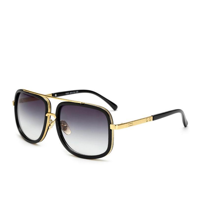 Compre 2019 Homens Mulheres Goggles Quadrado Piloto Quadro Lente Espelho De  Condução Clássico Gafas Masculino Oculos De Sol Masculino Óculos De Sol  Uv400 De ... ee4ef00871