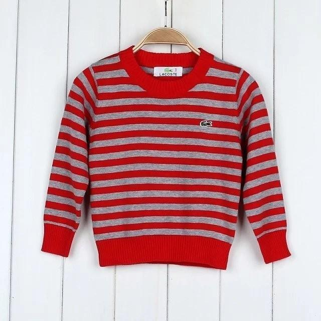 10c4f64c898d 2018 Baby Striped Sweater Top Long Sleeve Round Neck Pullover ...