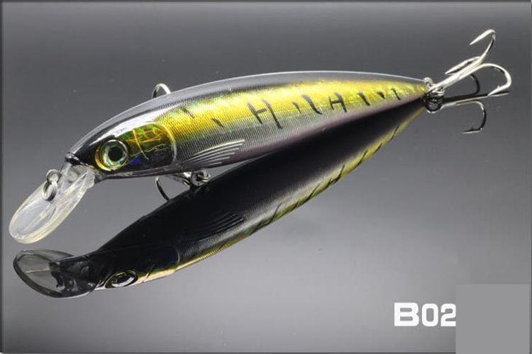 Большой длинный язык воблер гольян Лазерная соленая вода рыболовные приманки крючки 80г-18см 75г-20см глубокий дайвинг Dray swimbaits троллинг приманки
