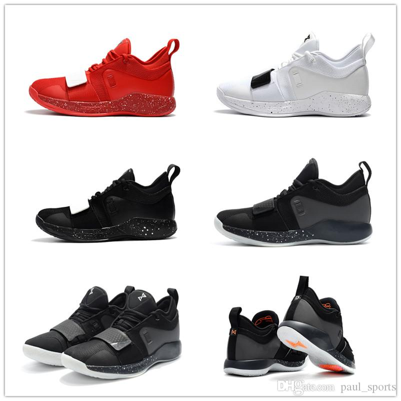 9ad9031de4f 2018 Hot Sale PG 2.5 Black White Red Paul George PG2.5 Basketball ...