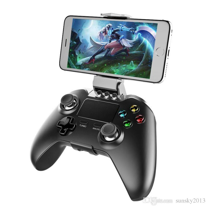iPEGA PG-9069 Wireless Bluetooth Gamepad with Touchpad Game Controller For Android IOS Phone Tablet PC Portable Gaming Joystick with Bracket