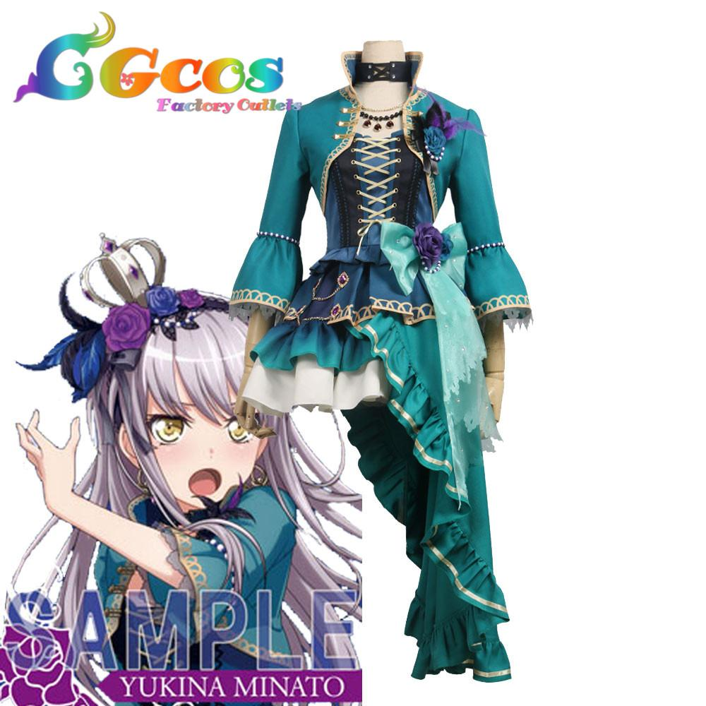 CGCOS Cosplay Costume COS BanG Dream ! Roselia Opera of the wasteland Minato Yukina Dress Halloween Christmas