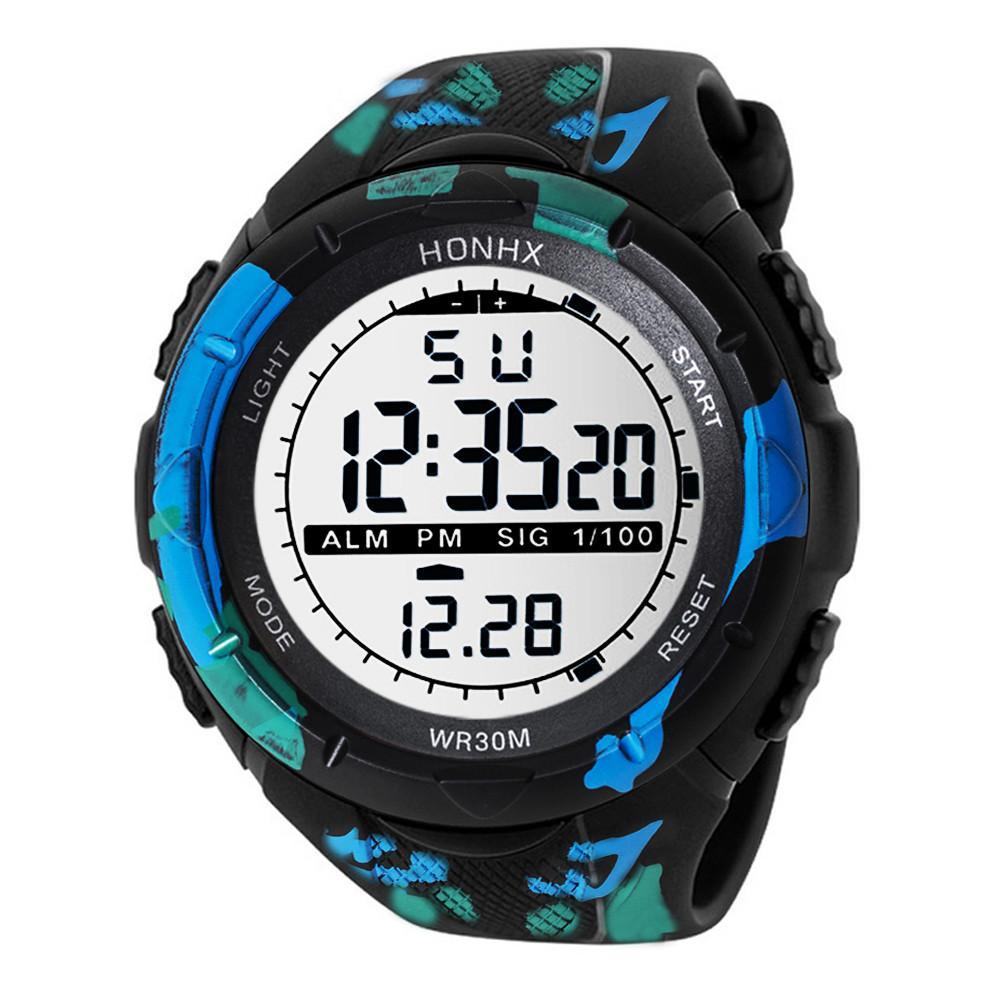 1d02fb537375 Compre Niños Relojes A Prueba De Agua Con Pantalla Lcd Moda Hombres A  Prueba De Agua Boy Cronómetro Digital Fecha De Goma Deportivo Reloj De  Pulsera Nuevo ...