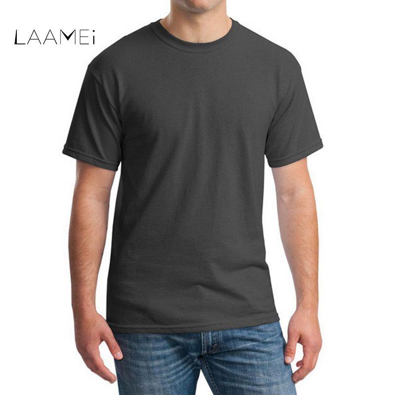 82ca71798f9 Laamei Men s T-shirt Cotton Fashion Summer Top Tees Multicolor ...
