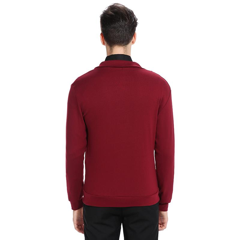 Red Men's Sweater 2017 Autumn Long Sleeve Mens Cardigans Coat Slim Fit Knitted Cardignas For Man Casual Christmas Sweater hombre