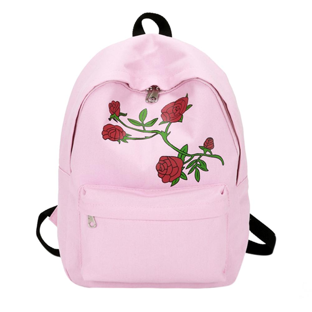 Hot Fashion Women Canvas Flower Embroidery