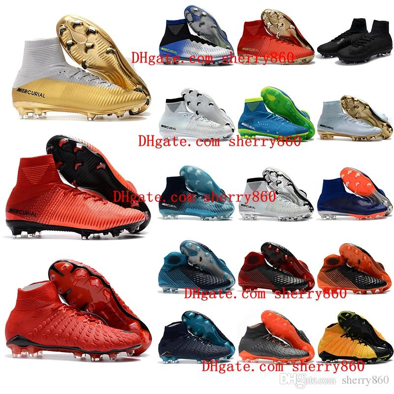 69af0c32ff6 2019 2018 New Arrival Mens Soccer Cleats Mercurial Superfly Cr7 Kids Soccer  Shoes Hypervenom Phantom Boys Football Boots Youth Magista Obra Cheap From  ...