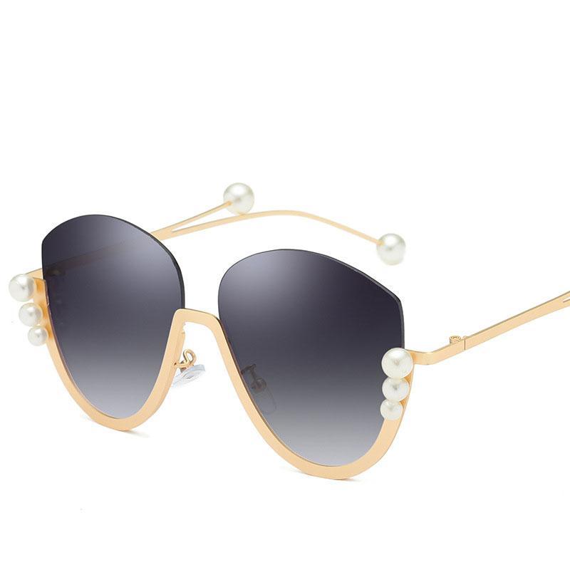 7ed07bb907 Compre Gafas De Sol Polarizadas Para Mujer. Gafas De Sol Clásicas. Caras De  Gran Tamaño Y De Tamaño Medio, Lentes De Espejo, Protección 400 UV.