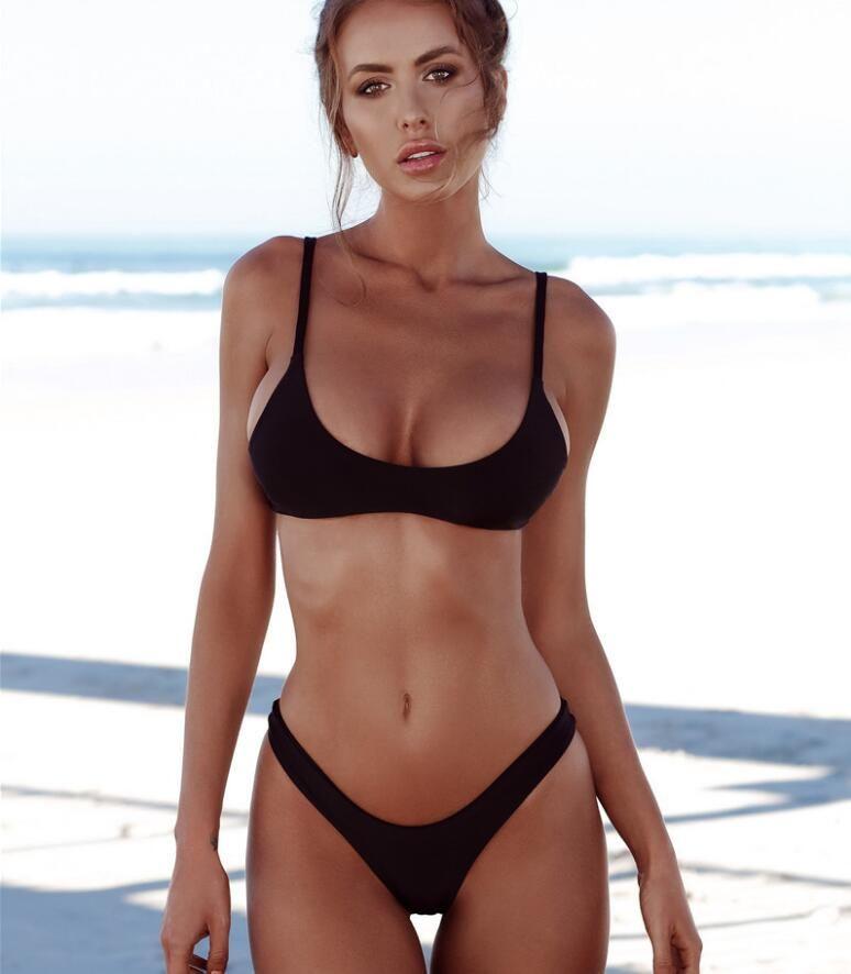 5634a6db131f3 2019 Plus Size Bikini 2018 Sexy Swimsuit Women Push Up Bikini Set Thong  Swimwear Female Bathing Suit Beachwear Maillot De Bain Femme From  Jacky0818