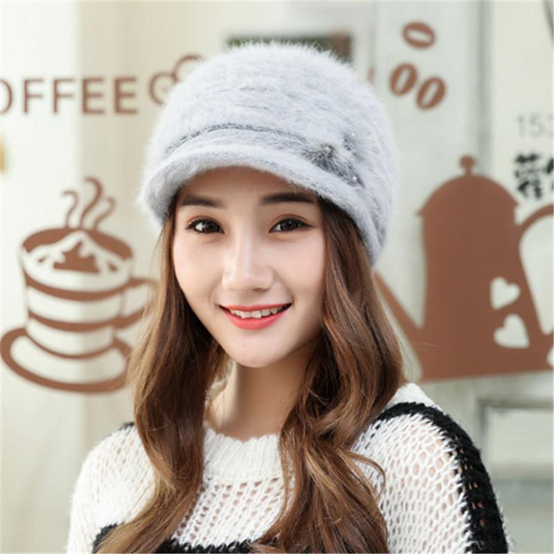 купить оптом вязаная шапка женщины зимние шапки для женщин дамы