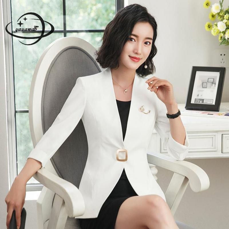 2018 Yauamdb Women Dress Suits 2018 Spring Autumn S 4xl Female