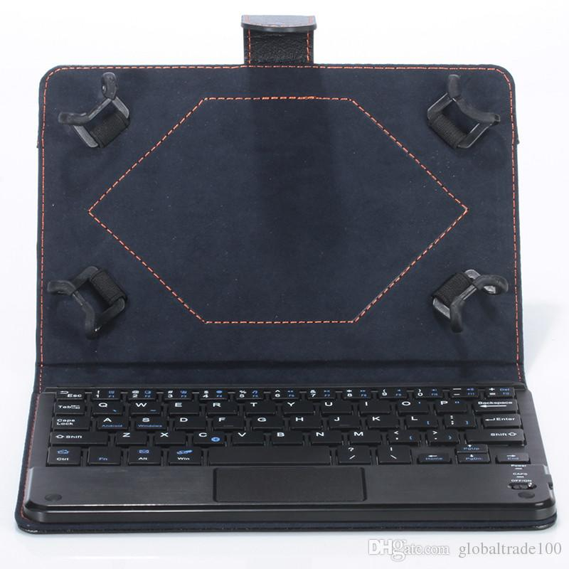Universal Bluetooth Keyboard Case with Touch Pad Removable keyboard Stand Cases for Android Windows Tablet PC 7 8 9 10.1 inch
