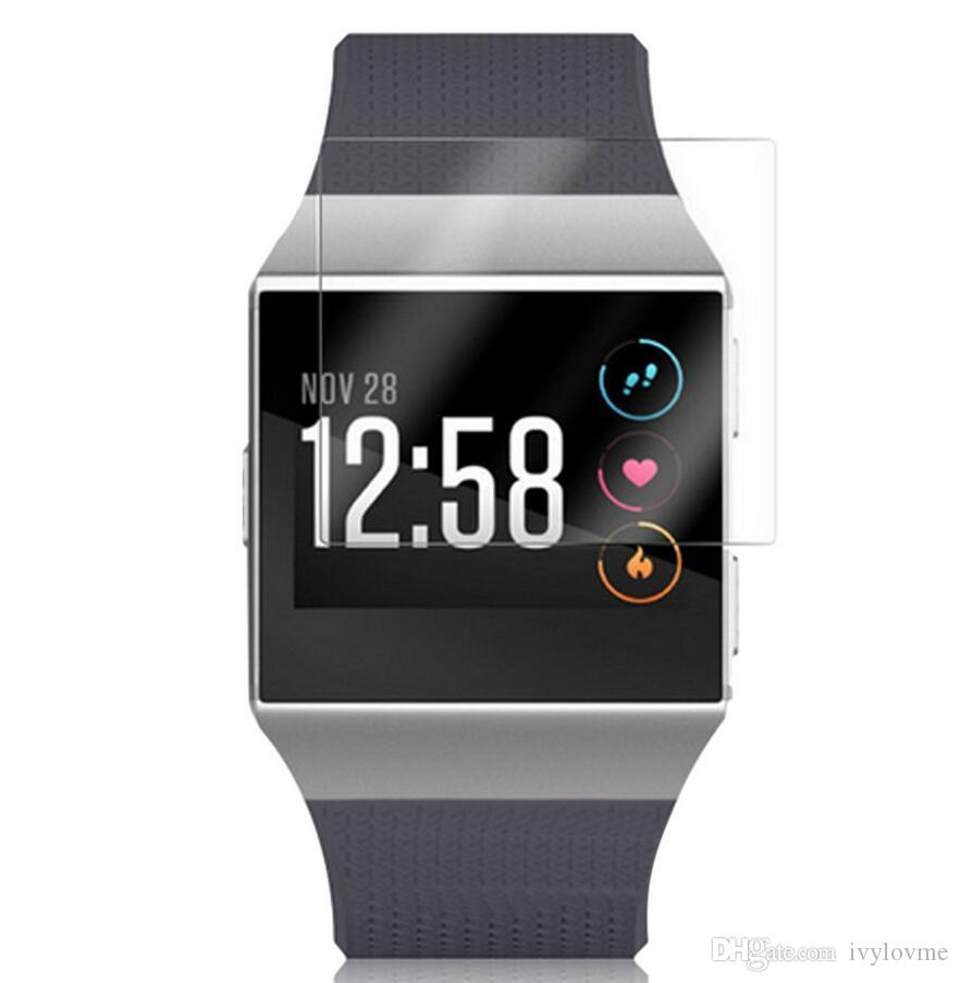 Premium Clear Film Screen Protector For Fitbit Ionic Wristwatch Soft Protective Films Case Not Tempered Glass