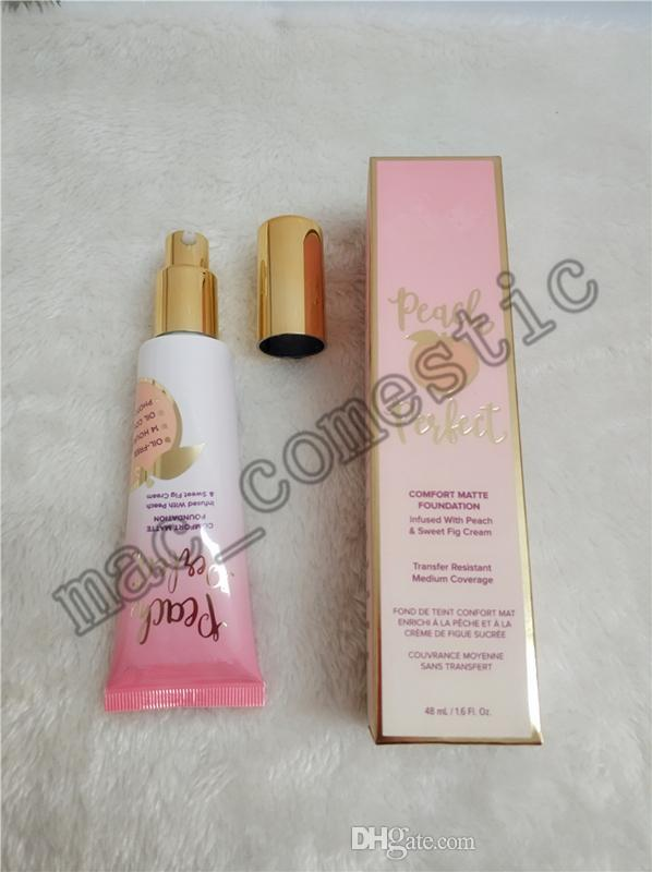 Peach Perfect comfort Matte Foundation infused with peach & sweet fig cream 48ml available transfer resistant medium coverage