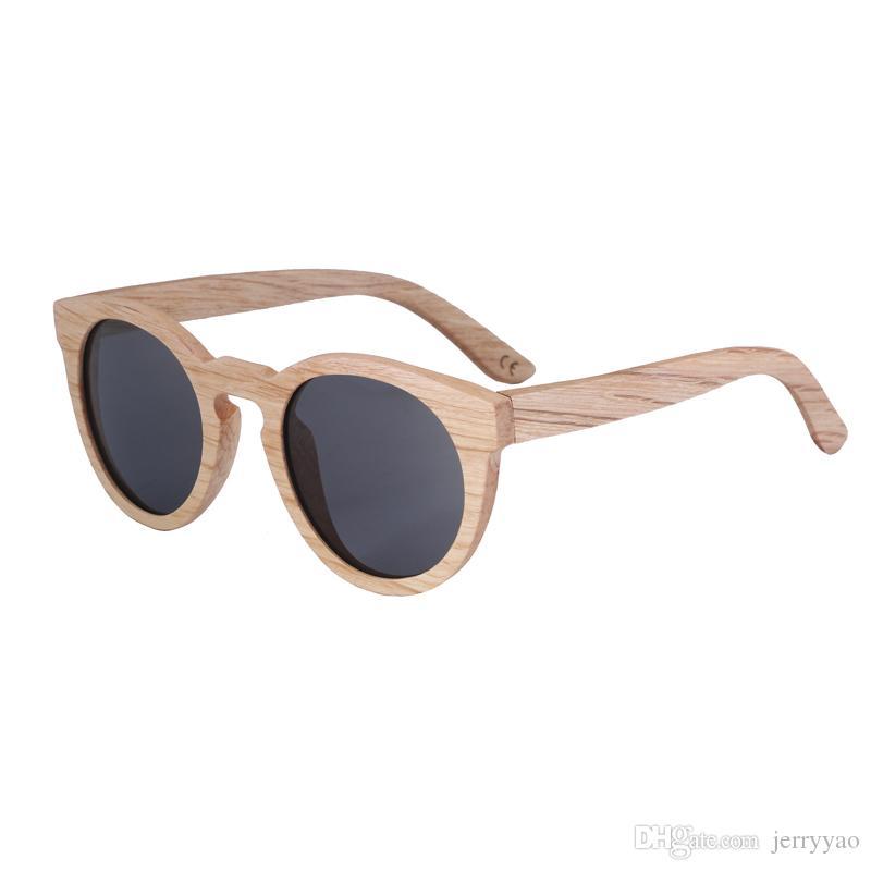 3c8f40f4ec Compre 2018 Nuevas Gafas De Sol Hechas A Mano De Madera Hechas A Mano De  Madera De La Mujer Gafas De Sol De Bambú Polarizadas Gafas De Sol De Alta  Calidad ...