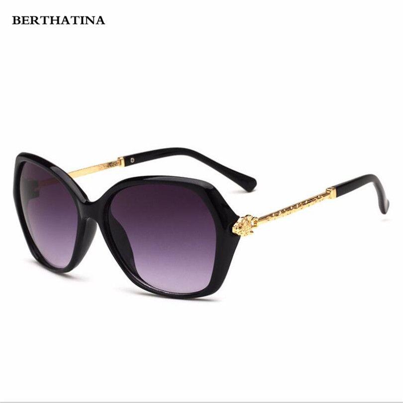 37e42baef2895 Compre Berthatina 2018 New Fashion Atuais Óculos De Sol Das Senhoras  Tendência Óculos De Sol Para As Mulheres Moda Lazer Shades Óculos De  Naixing