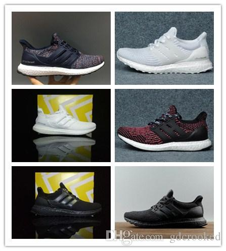 444f8f172 Ultra Boost 4.0 Triple Black And White Primeknit Oreo CNY Blue Grey Men  Women Running Shoes Ultra Boosts Ultraboost Sport Sneakers Girls Gym Shoes  Best ...