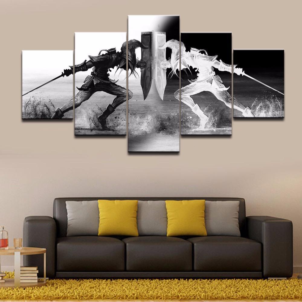 Acquista wall art vichinghi immagini home decor pezzi legend of