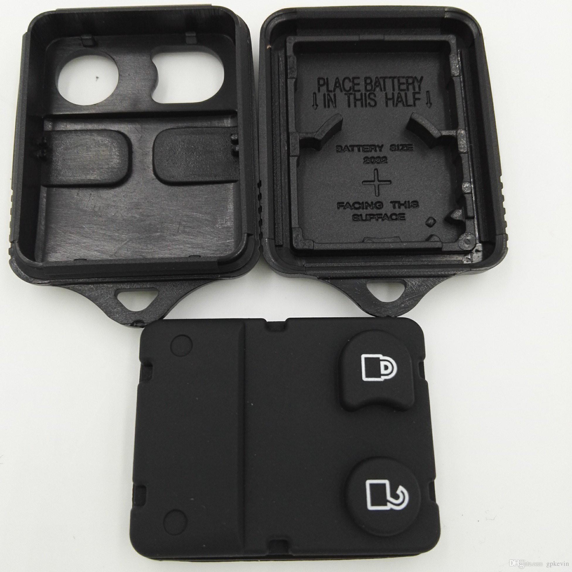 Sostituzione 2 pulsanti Chiave vuota Ford Explorer Mercury Mazda Coperchio custodia remota Chiave portachiavi Senza chip all'interno
