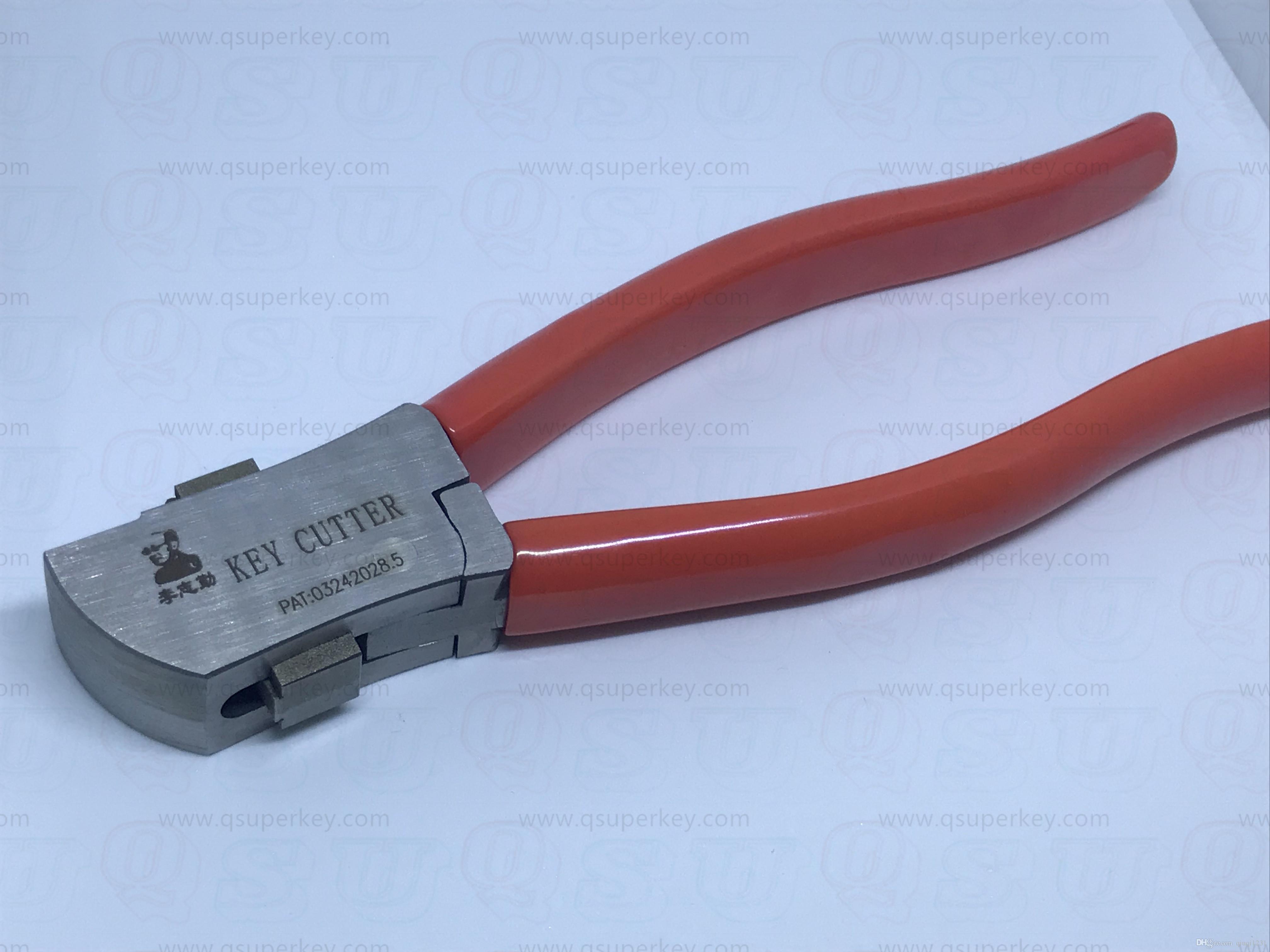 qsuperkey 핫 세일 Lishi 키 커터 자동 키 커팅 머신 자물쇠 선택 세트 자물쇠 도구