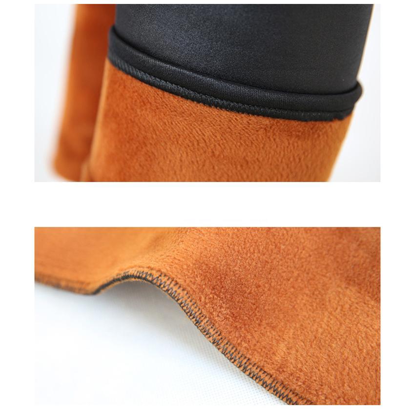 Новые зимние теплые брюки amp; Capris женщины искусственная кожа толстый бархат стрейч тонкий карандаш брюки Elasitc брюки плюс размер