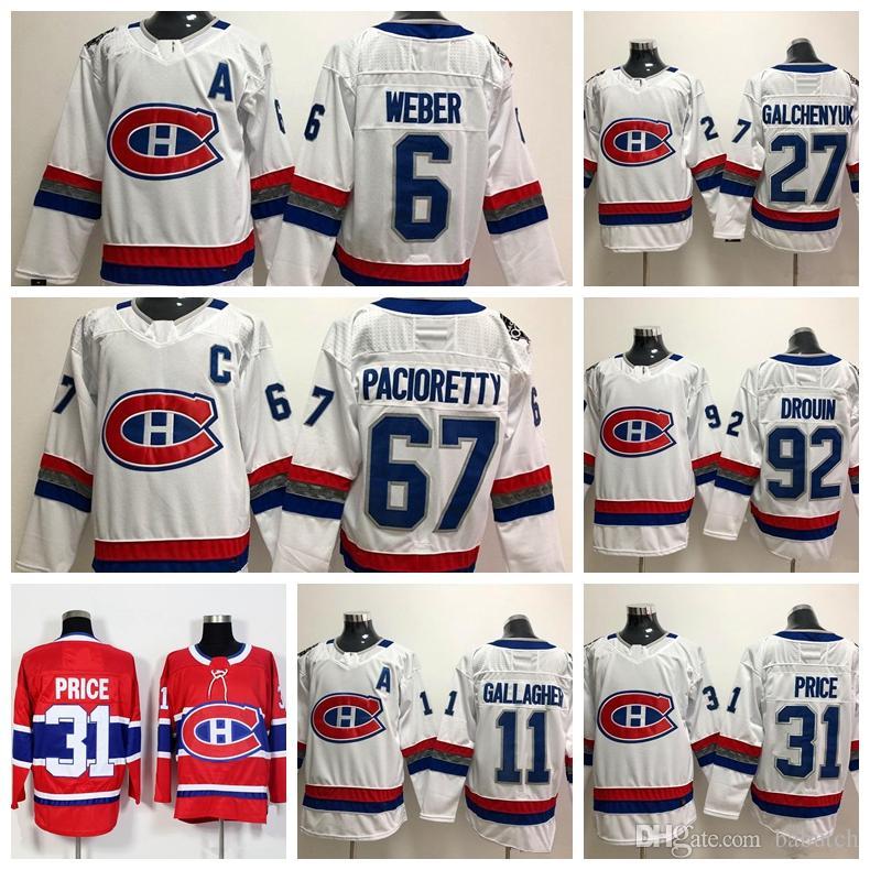 2018 Montreal Canadiens 31 Carey Price 92 Jonathan 6 Shea Weber ... a35e9fa3f