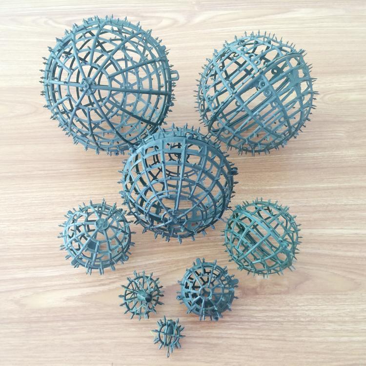 Großhandel Fabrik Verkaufs Plastikrahmen Für Blumen Ball Diy Kranz ...