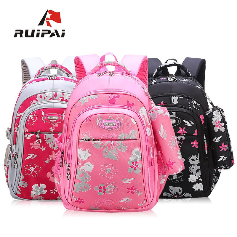Children School Bag With Pencil Case Backpack For Girls Primary School Bag  Sweet Style Backpack Big Capacity Kids Backpack Y18120303 Rolling Backpack  For ... 73f848849a
