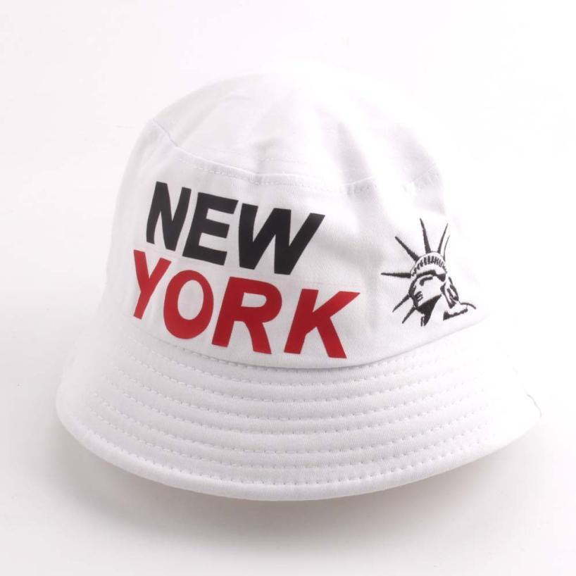 New York Sunscreen Men Women Bucket Hat Caps Mens Fisherman Adjustable Cap  Letter Print Boonie Hats Army Cotton Simple Hats Summer Hat Straw Cowboy  Hats ... 690fad2719