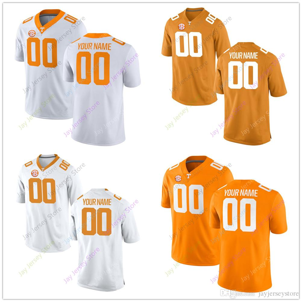 new style 7d966 be2cb Custom NCAA College Tennessee Volunteers Jersey Any Your Name Number