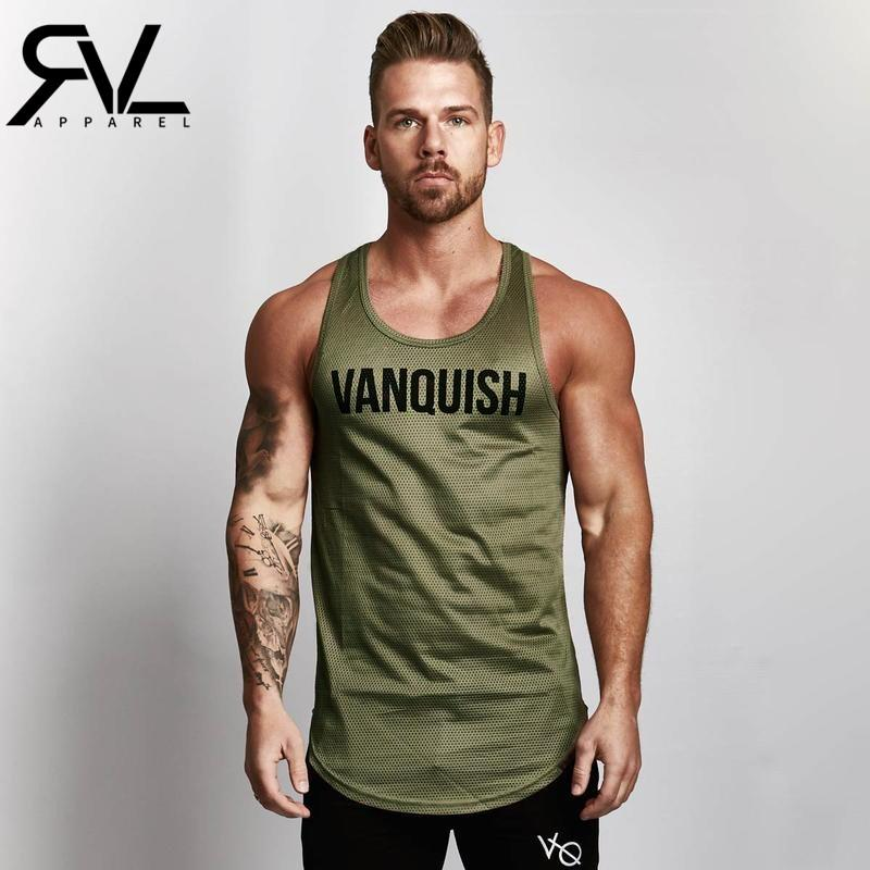7ed70bdb69ba1 2019 REVIVAL FITNESS Brand Mens Mesh Tank Tops Men Breathable Stringer Vest  Casual Men S Cotton Fitness Clothing Tank Top Dropshippin From Firstcloth