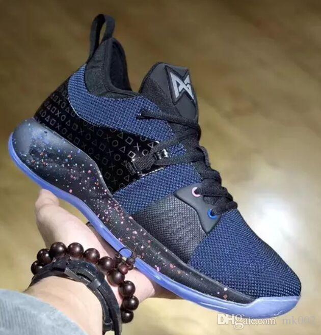 390384c4637b With Box Lights UP PG 2 PlayStation Taurus Road Master Basketball Shoes For Paul  George II PG2 2s PS Athletic Sport Sneakers Size 40 46 Youth Basketball ...