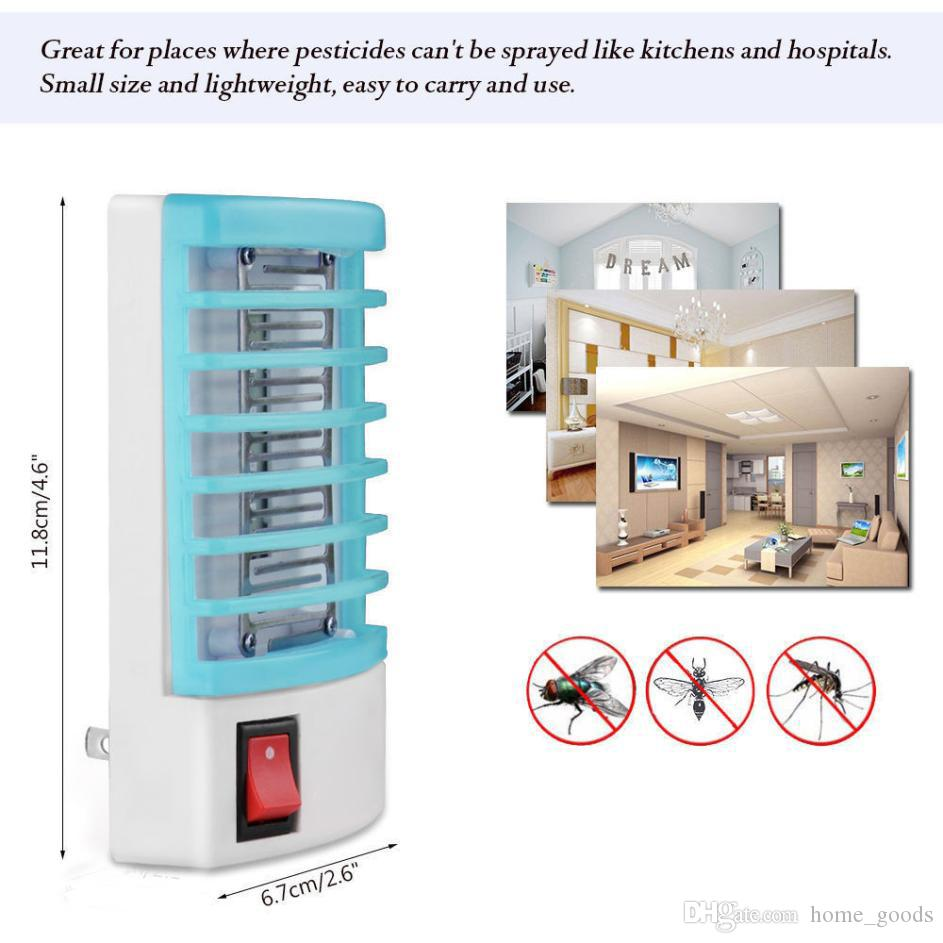 Multifunctional Pest Repeller Mini Socket Led Lamp Electronic This Mosquitoes Repellent Circuit Is Easy To Build Mosquito Killer Night Light Trap Zapper Anti Insect Bug Wasp With Package